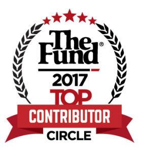 The Fund 2017 Top Contributors Circle Logo